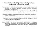 konwent starost w wojew dztwa ma opolskiego nowy targ 20 marca 2009 r10