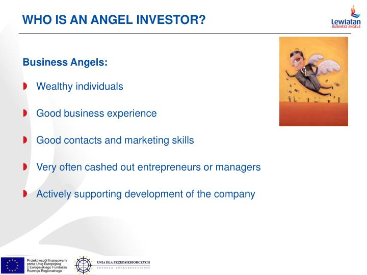 Who is an angel investor