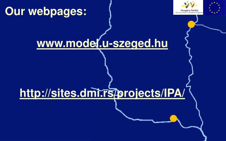 Our webpages: