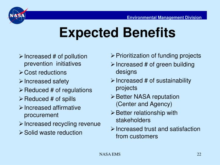 Increased # of pollution prevention  initiatives