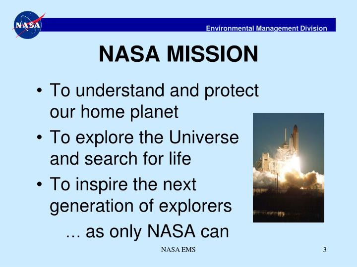 NASA MISSION