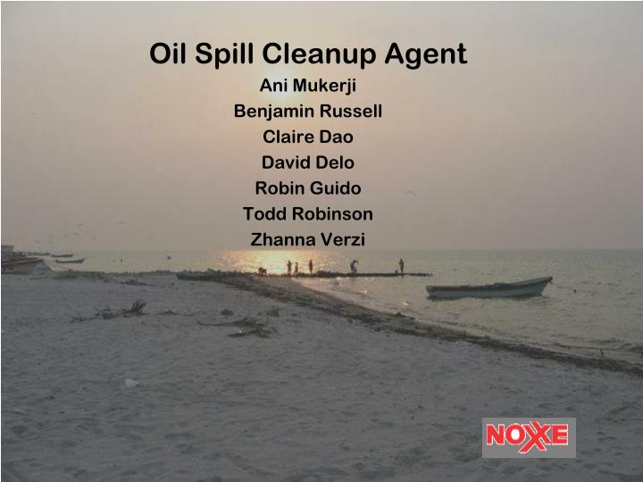 Oil Spill Cleanup Agent
