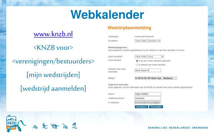 Webkalender