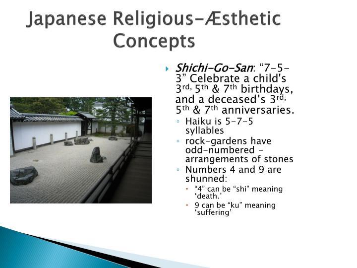 Japanese Religious-