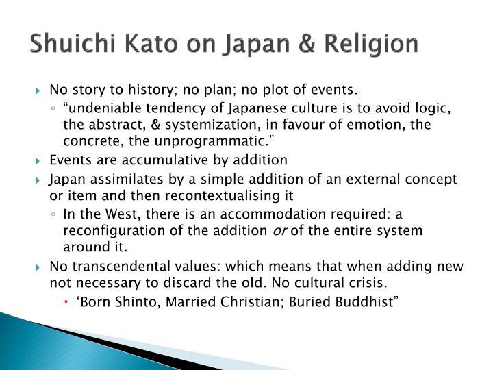 Shuichi Kato on Japan & Religion