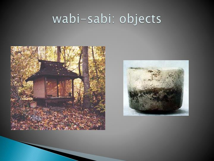 wabi-sabi: objects