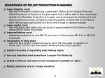 advantages of pellet production in nanjing