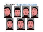 ken perlin s responsive face demo