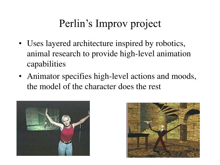 Perlin's Improv project