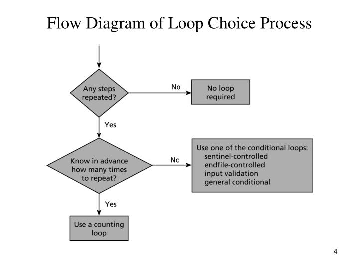 Flow Diagram of Loop Choice Process