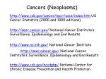 cancers neoplasms