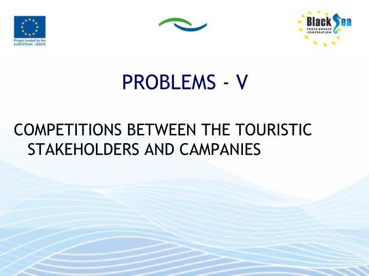 PROBLEMS - V