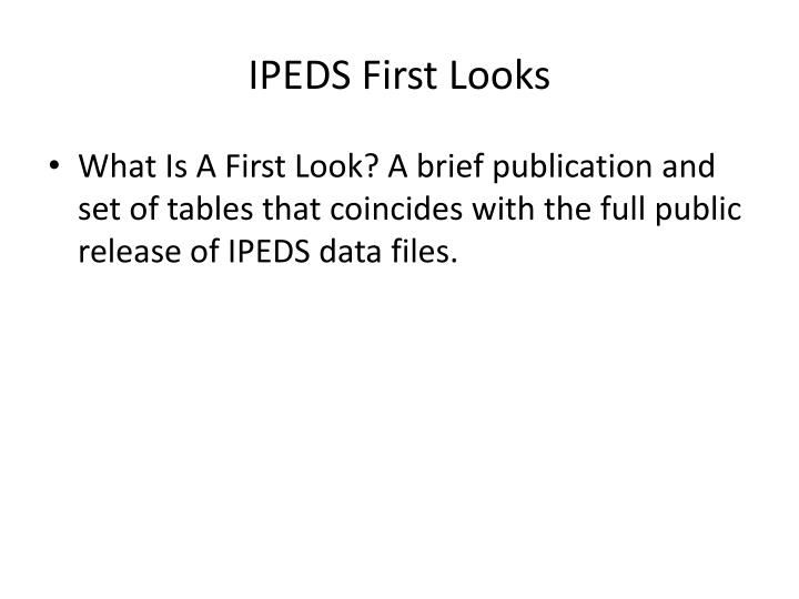 IPEDS