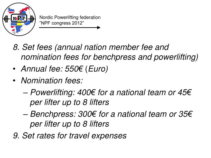 Nordic Powerlifting federation