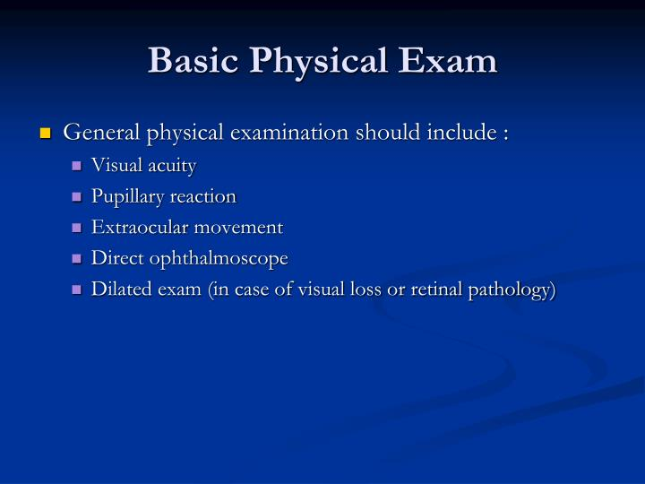Basic Physical Exam