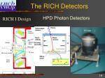 the rich detectors
