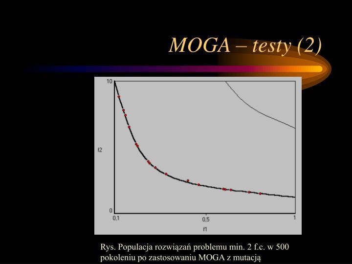 MOGA – testy (2)