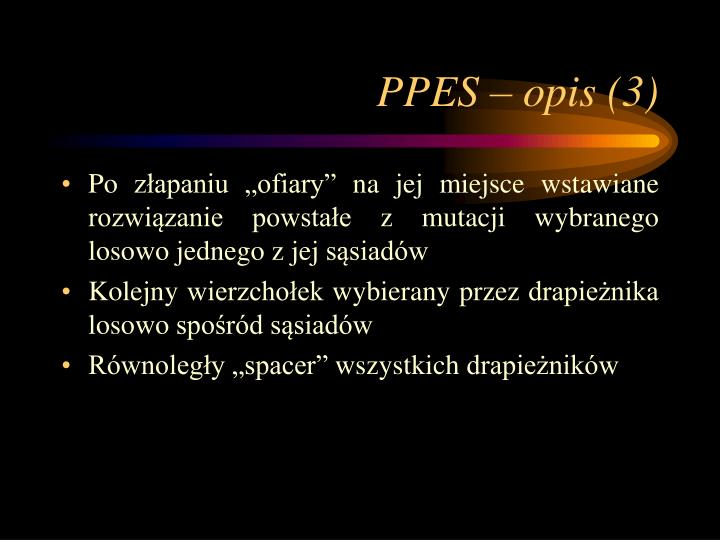 PPES – opis (3)