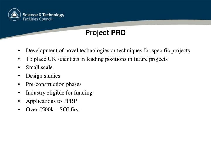 Project PRD