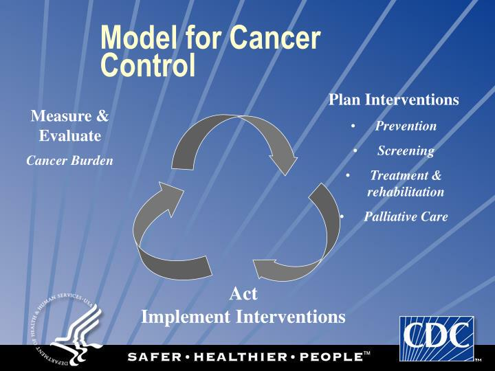 Model for Cancer Control