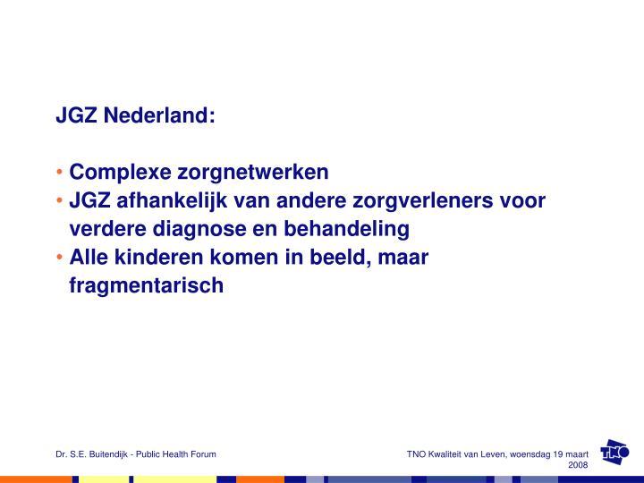 JGZ Nederland: