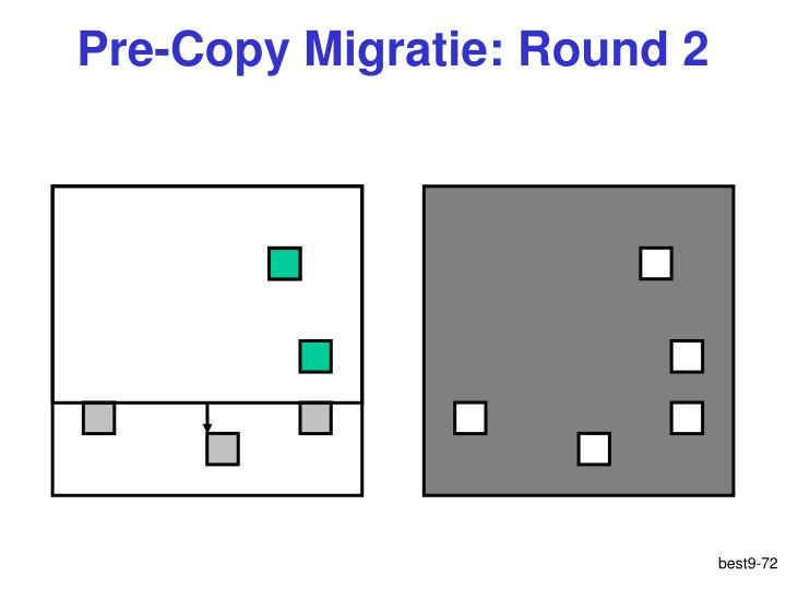 Pre-Copy Migratie: Round 2