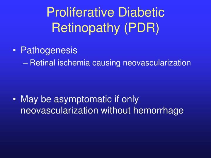 Proliferative Diabetic