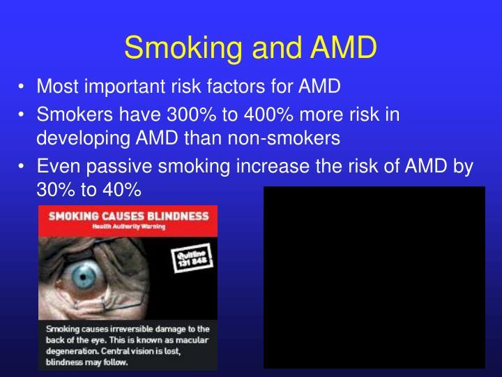 Smoking and AMD
