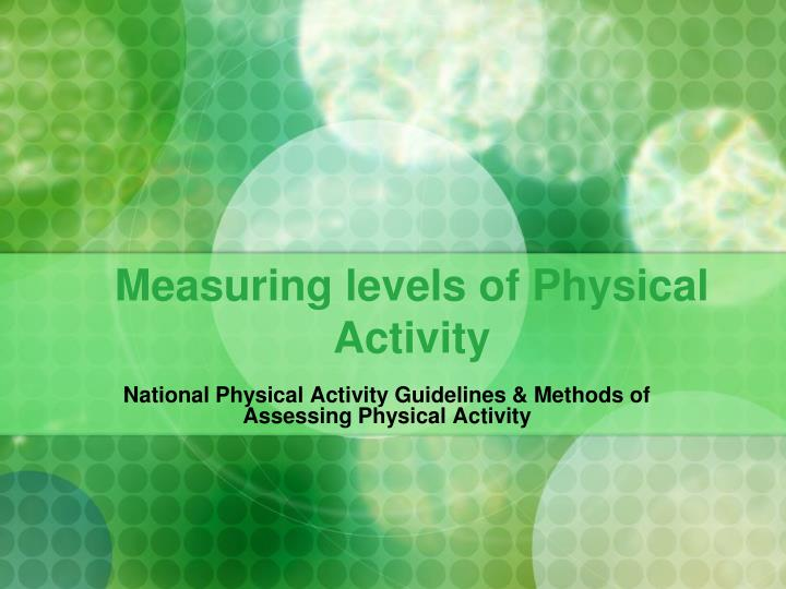 australian physical activity guidelines mets