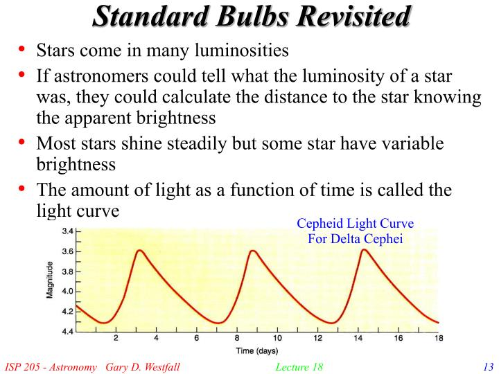 Standard Bulbs Revisited