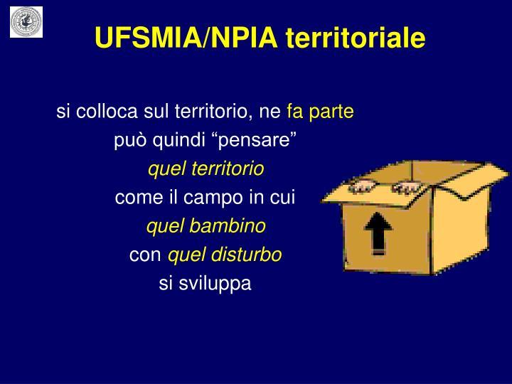 UFSMIA/NPIA territoriale