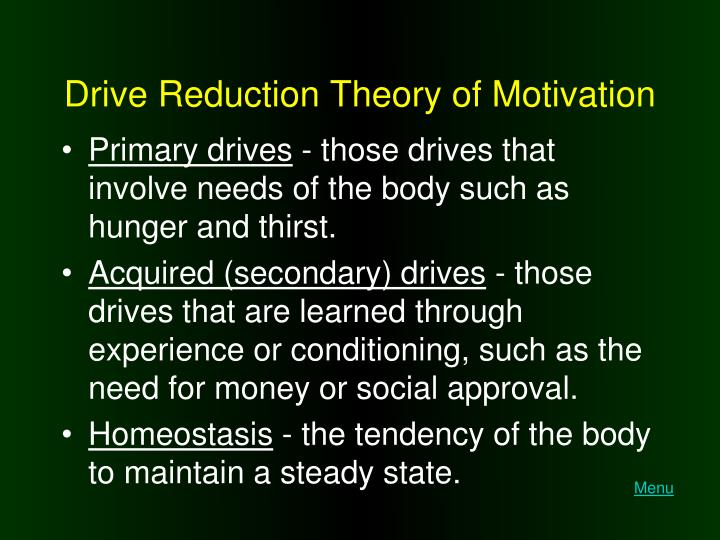 conditioning theory of motivation There are many theories of human motivation but you really need to know just a few discover the most important theory for work motivation, the one you really must know.