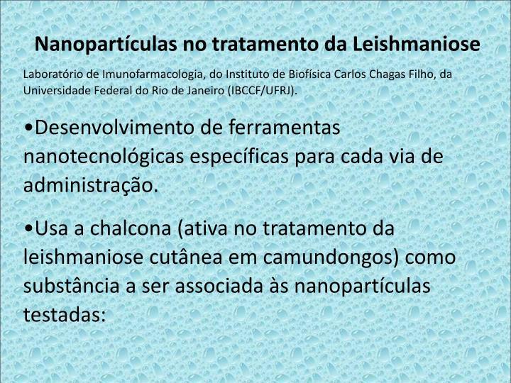 Nanopartculas no tratamento da Leishmaniose