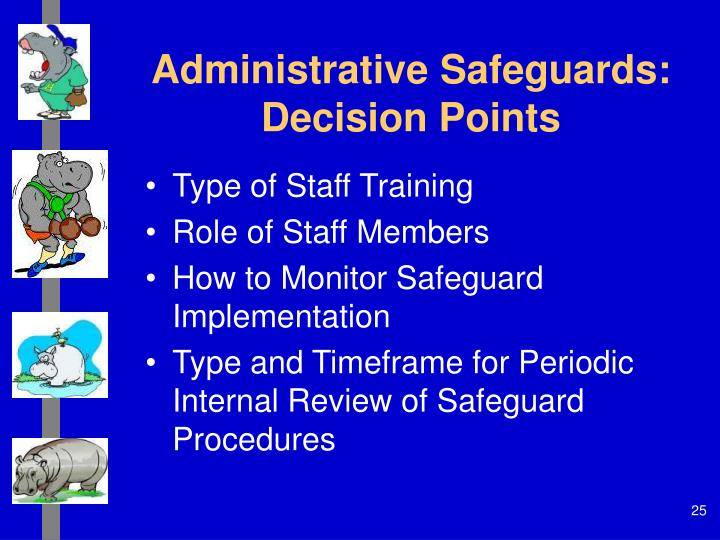 Administrative Safeguards: