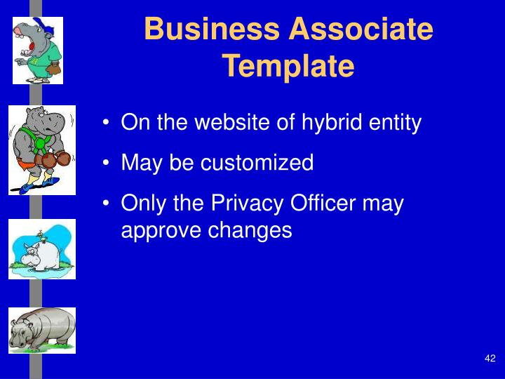 Business Associate Template