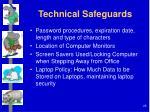 technical safeguards