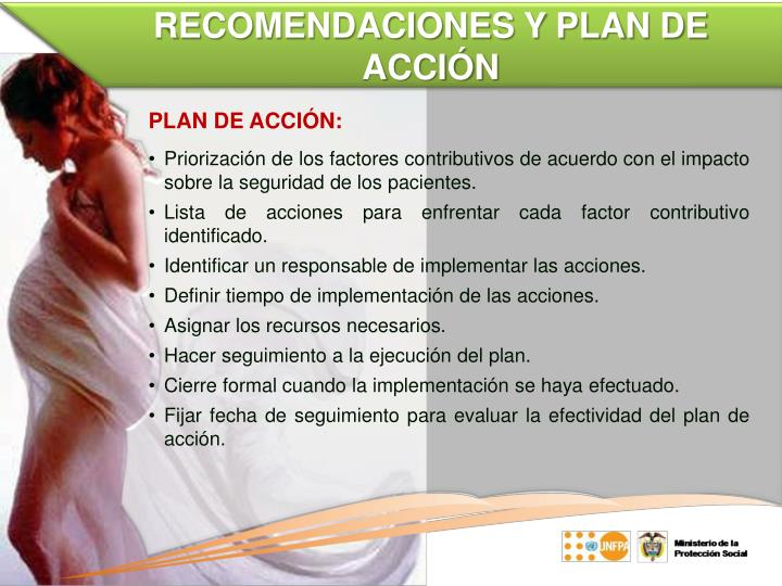 RECOMENDACIONES Y PLAN DE ACCIÓN