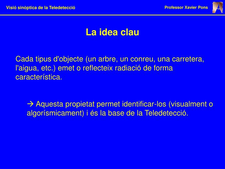 La idea clau