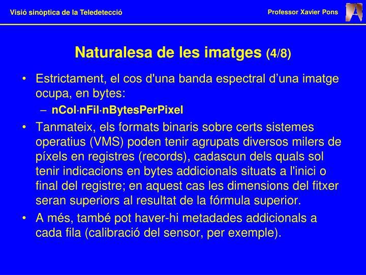 Naturalesa de les imatges