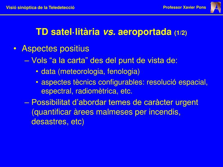 TD satel·litària