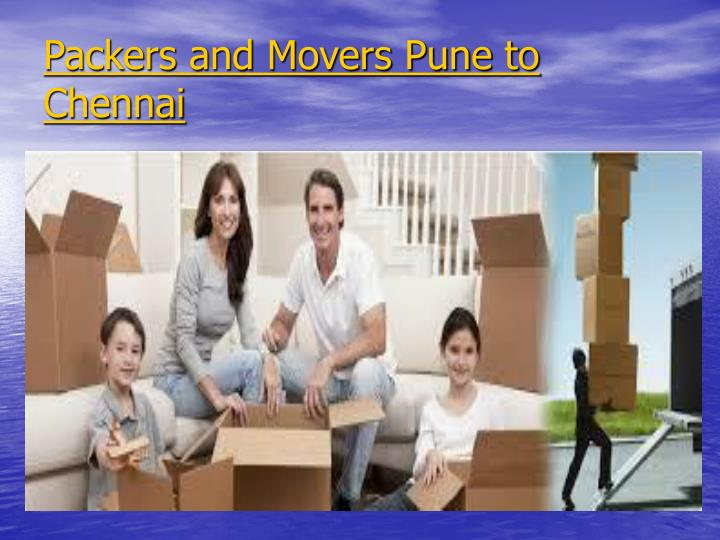 Packers and Movers Pune to Chennai
