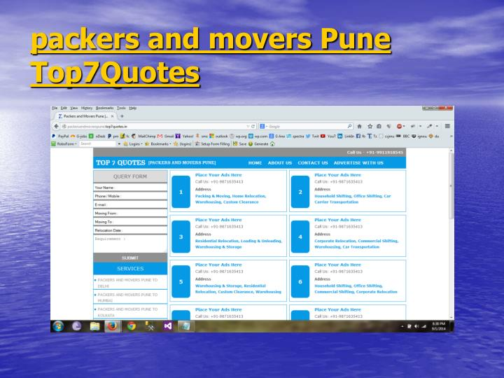 Packers and movers pune top7quotes1