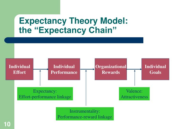 Expectancy Theory Model: