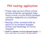 pvc routing application