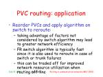 pvc routing application1