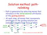 solution method p ath relinking1