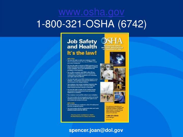 www.osha.gov