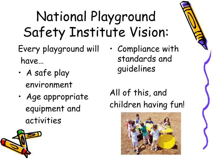 Every playground will