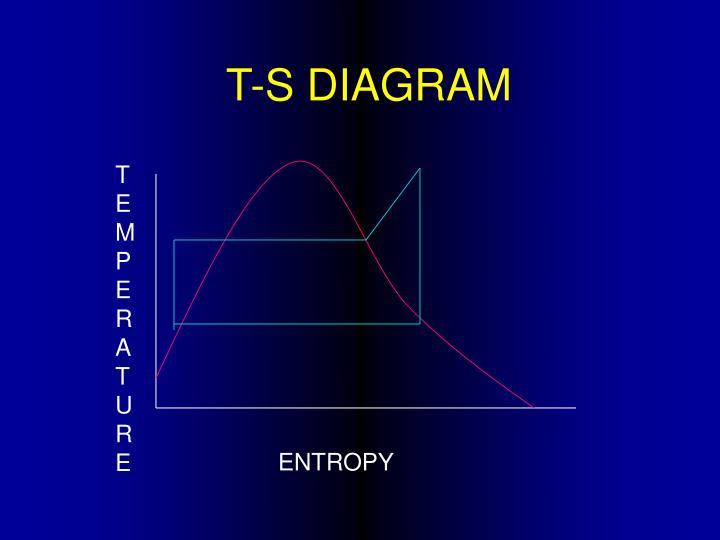 T-S DIAGRAM
