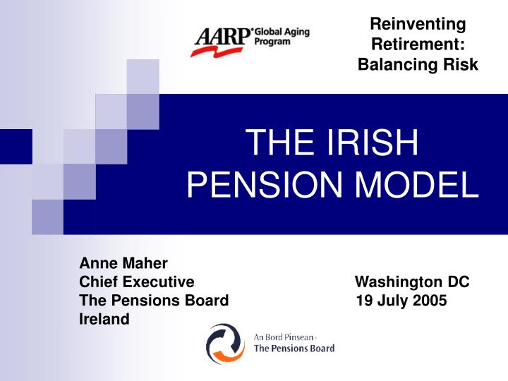 The irish pension model